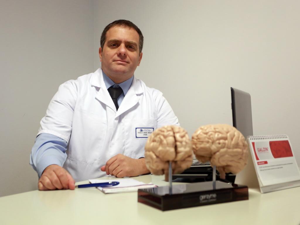 Federico Sánchez es jefe de sección en el Hospital de Clínicas en Buenos Aires